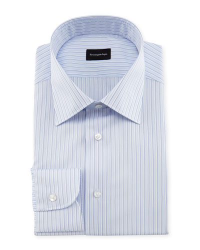Multi-Stripe Dress Shirt, Multi
