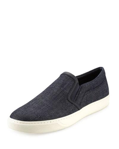 Barron Denim Slip-On Sneaker, Denim