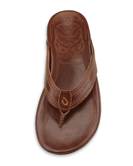 Po'okela Leather Thong Sandal