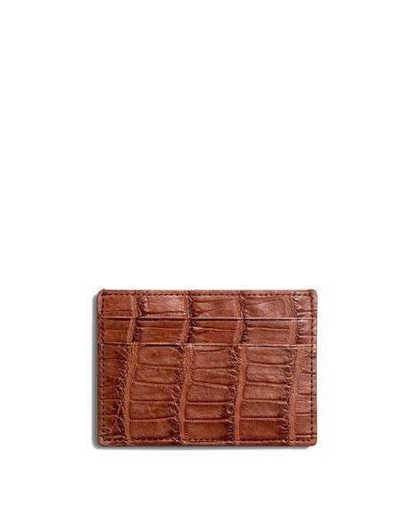 Alligator Six-Pocket Card Case