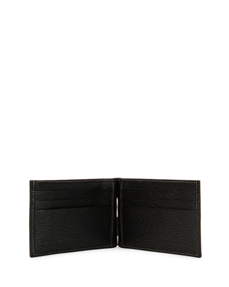 Men's Revival Bifold Wallet W/Money Clip, Black