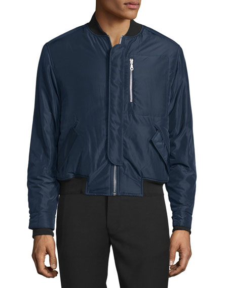 Opening Ceremony Deck Flight Bomber Jacket, Midnight Navy