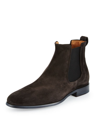 Arthur Suede Chelsea Boot, Gray