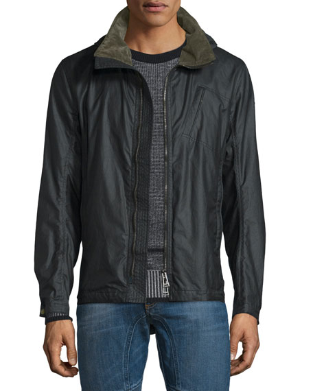 Belstaff Citymaster Waxed Cotton Jacket, Black