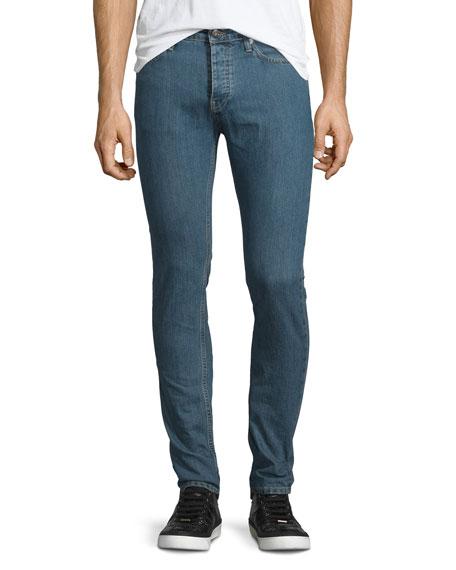 IRO Hopper Skinny-Leg Denim Jeans, Denim Blue