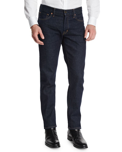 Straight-Fit New Indigo Stretch Jeans