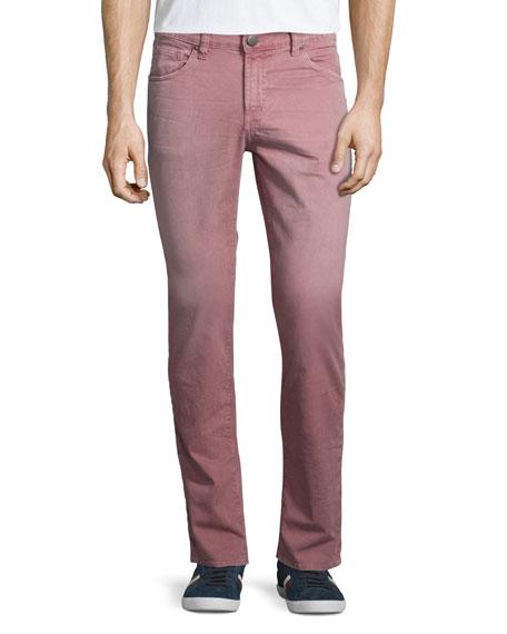 J Brand JeansTyler Slim-Straight Jeans, Thrashed Radish