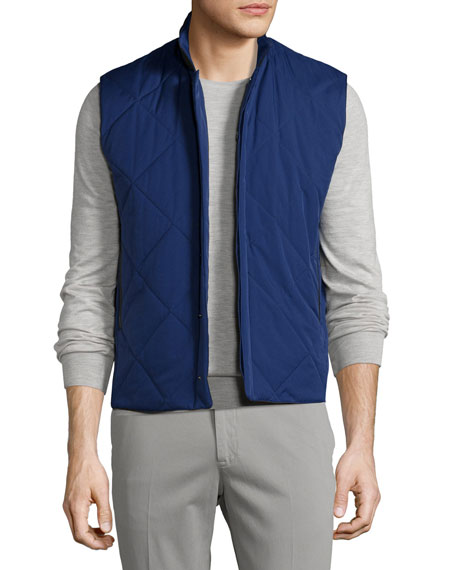 Loro Piana Horsey?? Wind Soft Quilted Vest