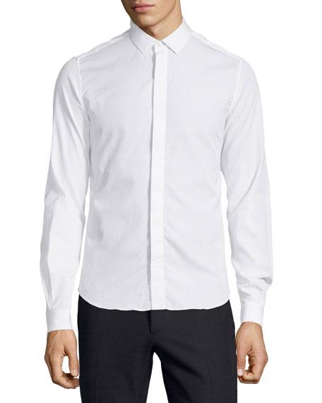 Valentino Slim-Fit Dress Shirt, White