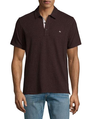 Standard Issue Polo Shirt, Burgundy