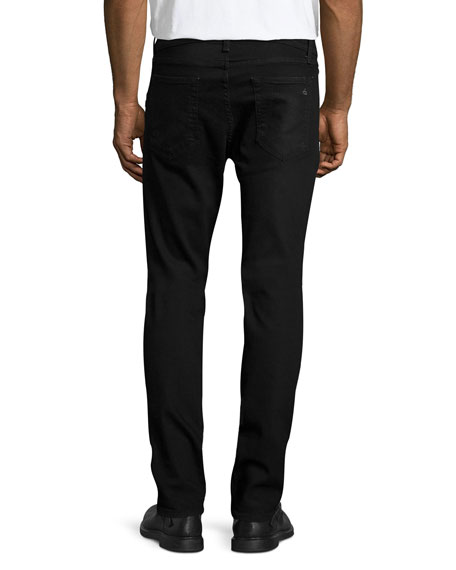 Fit 2 Slim-Leg Denim Jeans, Worn Black