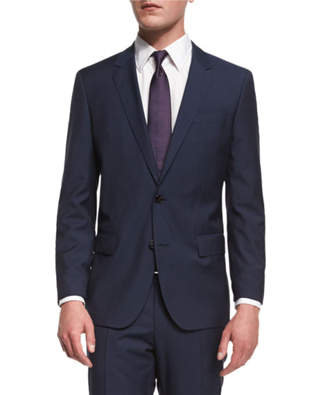 Huge Genius Slim-Fit Basic Suit, Navy
