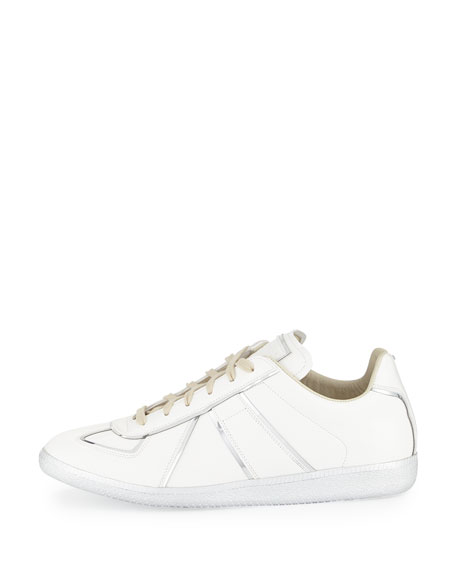 Replica Metal-Trim Low-Top Sneaker