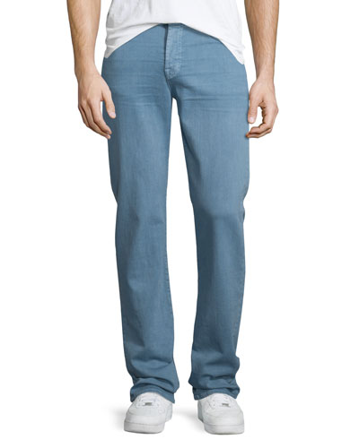 Luxe Performance: Slimmy Freshwater Moss Jeans