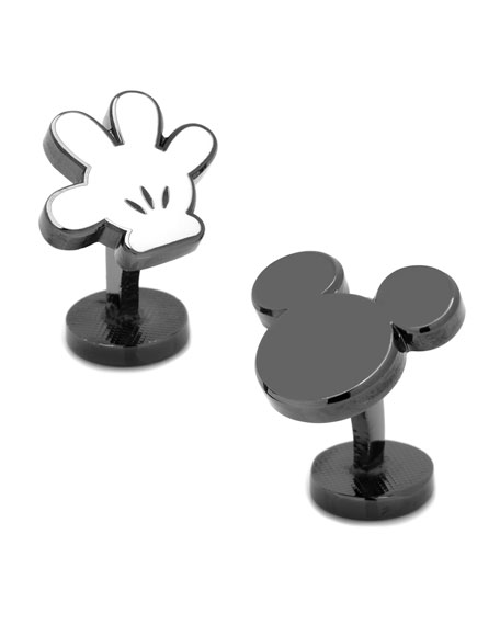 Mickey Mouse Helping Hand Cuff Links