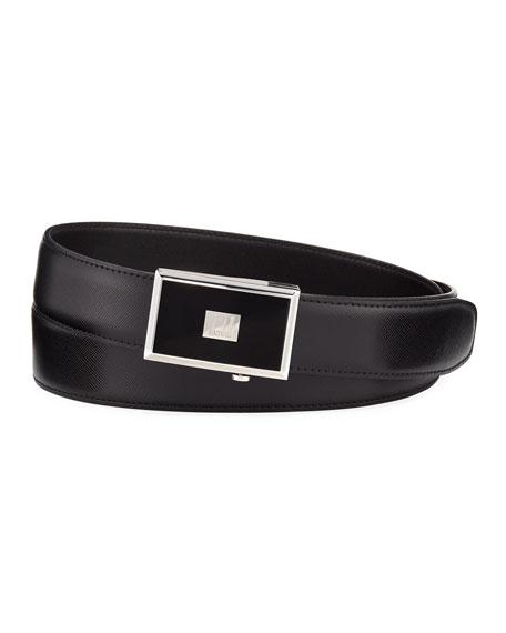 30mm Saffiano Leather Belt