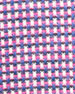Neat Mini-Check Woven Sport Shirt, Berry/Blue