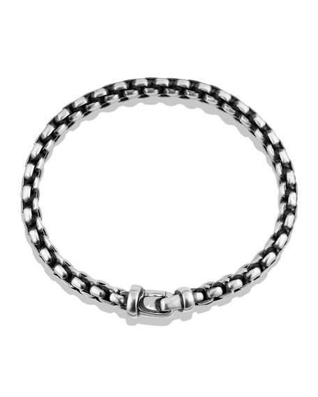Men's 12mm Woven Box Chain Bracelet
