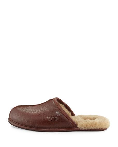 Men's Scuff Leather Slipper