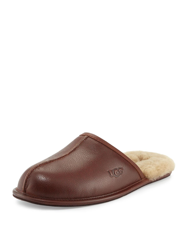 71bfbed8440c UGG Men s Scuff Leather Slipper