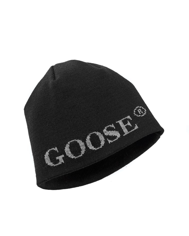 1e95a99065c Canada Goose Boreal Logo Merino Wool Beanie Hat