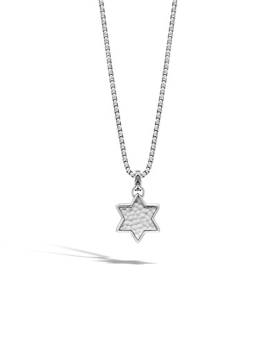 Men's Star of David Pendant Necklace