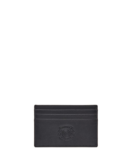 Ghurka Slim Credit Card Case No. 204, Black