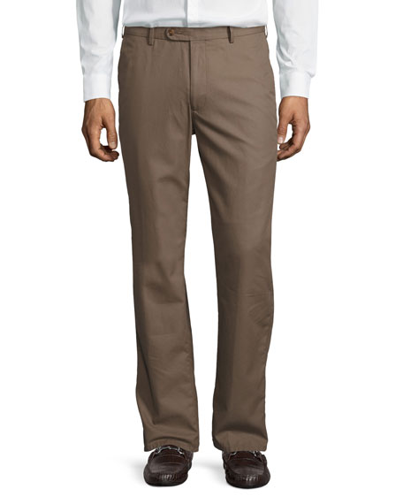Peter MillarLightweight Twill Pants, Bison