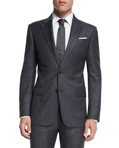 Men S Suits Plaid Amp Wool At Neiman Marcus