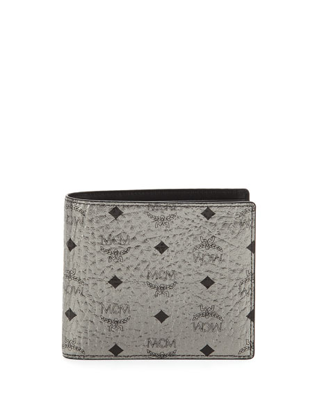 Claus Small Monogram Canvas Wallet
