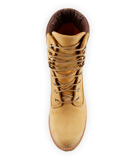 "8"" Premium Waterproof Hiking Boot, Light Tan"