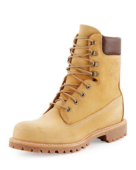 waterproof product collar womens nubuck grey boots inch premium timberland light metallic