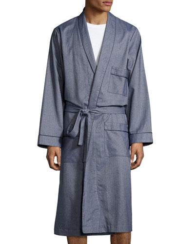 Lightweight Terry Cloth Robe Mens