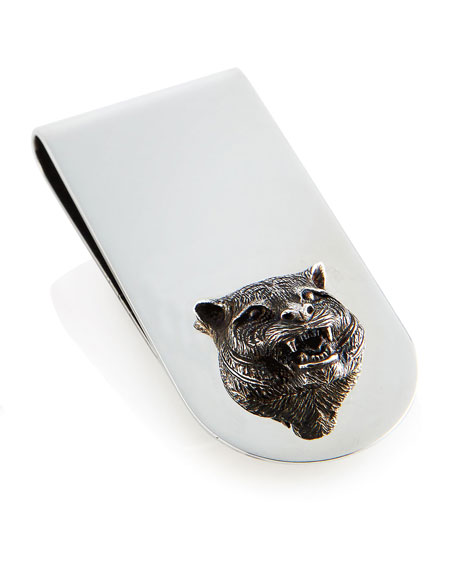 Gucci Tiger Money Clip