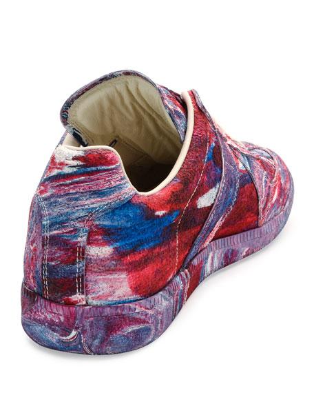 Replica Low-Top Tie-Dye Rubber Sneaker