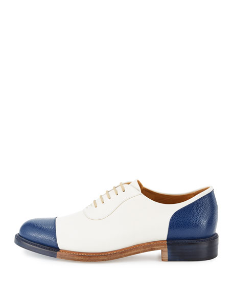 The Smythe Leather Cap-Toe Oxford Shoe
