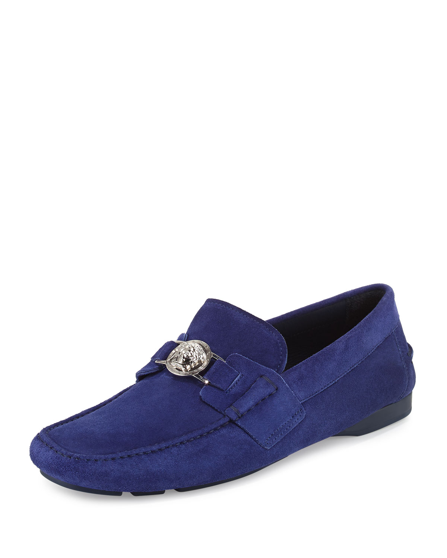 versace suede shoes