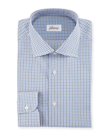 Check Woven Dress Shirt