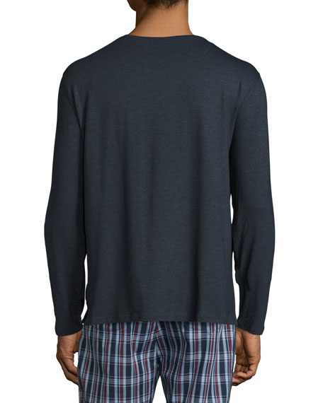 Long Sleeve Jersey T-Shirt, Anthracite