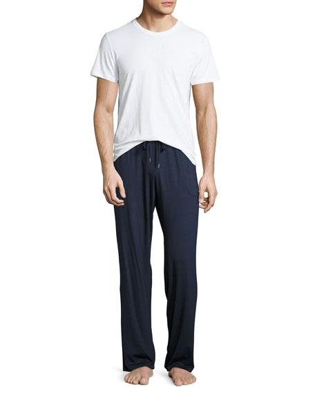Jersey-Knit Lounge Pants, Navy