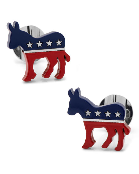 Democratic Donkey Cuff Links