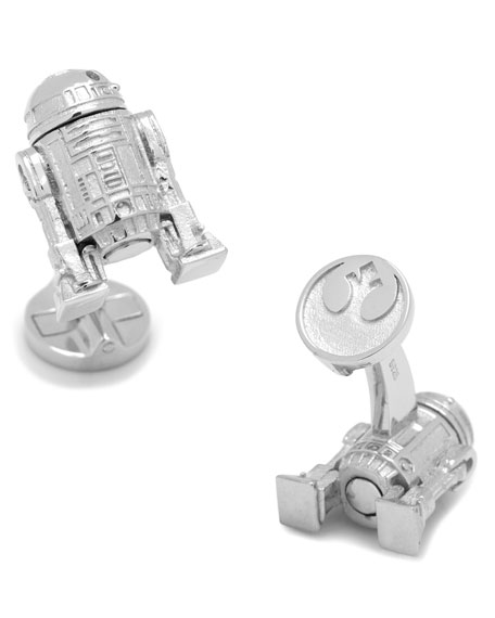 Cufflinks Inc. Star Wars R2D2 Sterling Silver Cuff