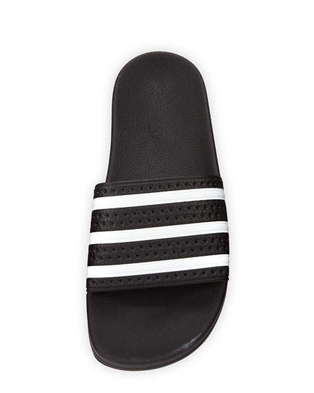 Men's Adilette 3 Rubber Slide, Black