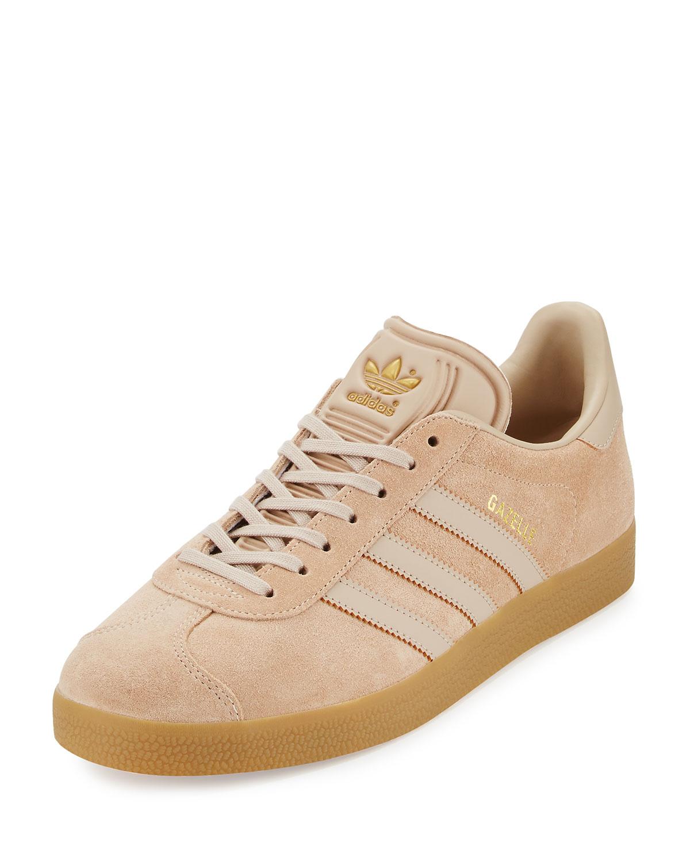 Adidas hombre 's Gazelle original Suede sneaker, Clay Marrón Neiman Marcus