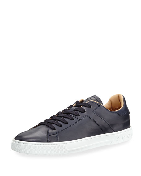 Tod's Leather Low-Top Sneaker