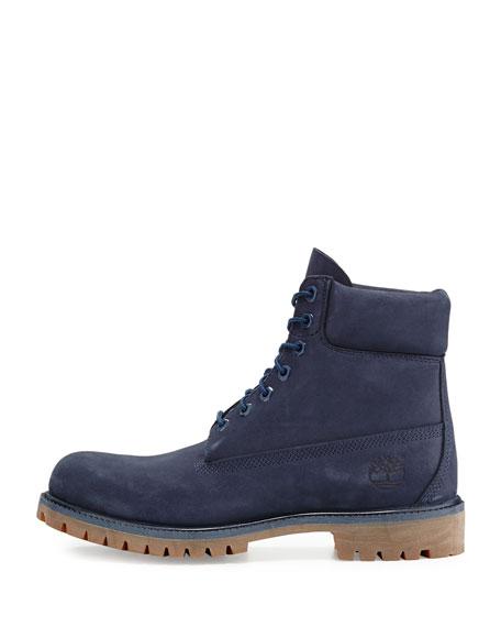 """6"""" Premium Waterproof Hiking Boot, Navy"""