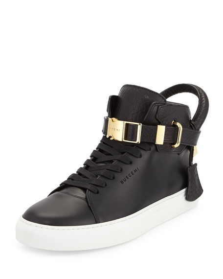 Buscemi 100mm Bison High-Top Sneaker