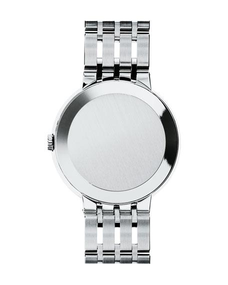 Movado 39mm Esperanza Watch, Silver