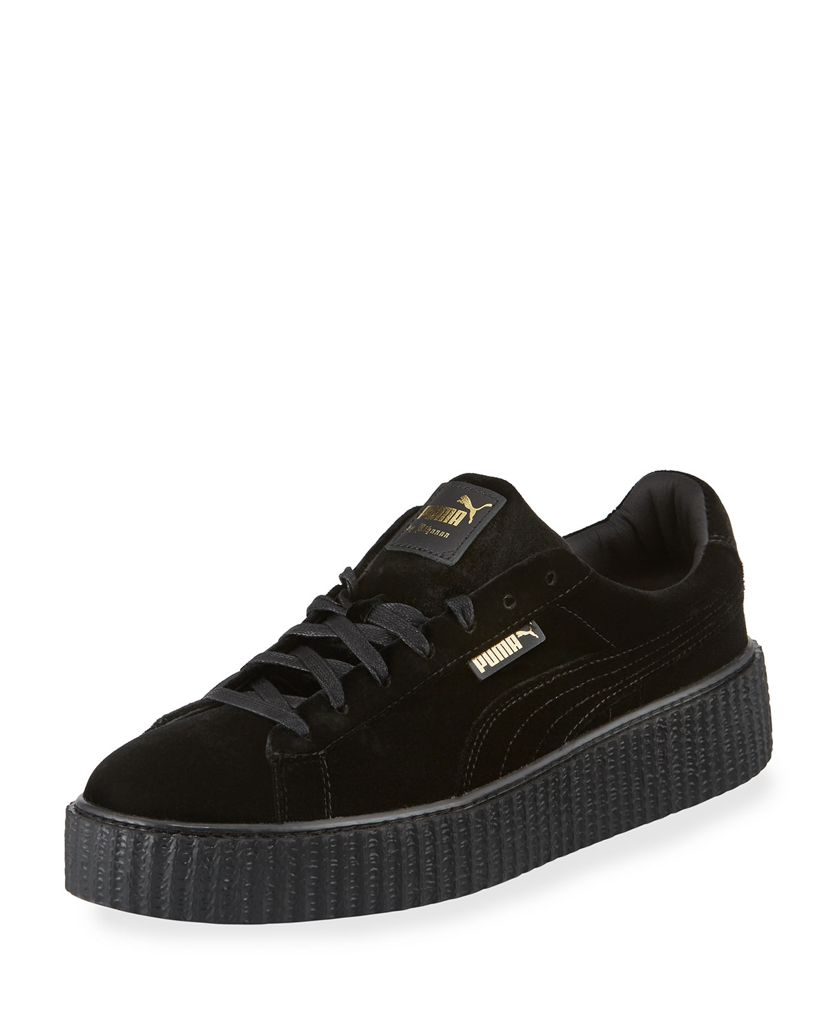 hot sale online ed60d cedee Men's Velvet Creeper Sneakers, Black