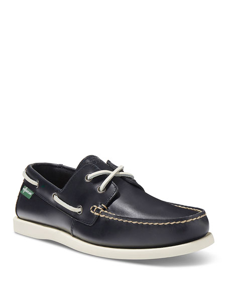Kittery 1955 Leather Boat Shoe, Navy